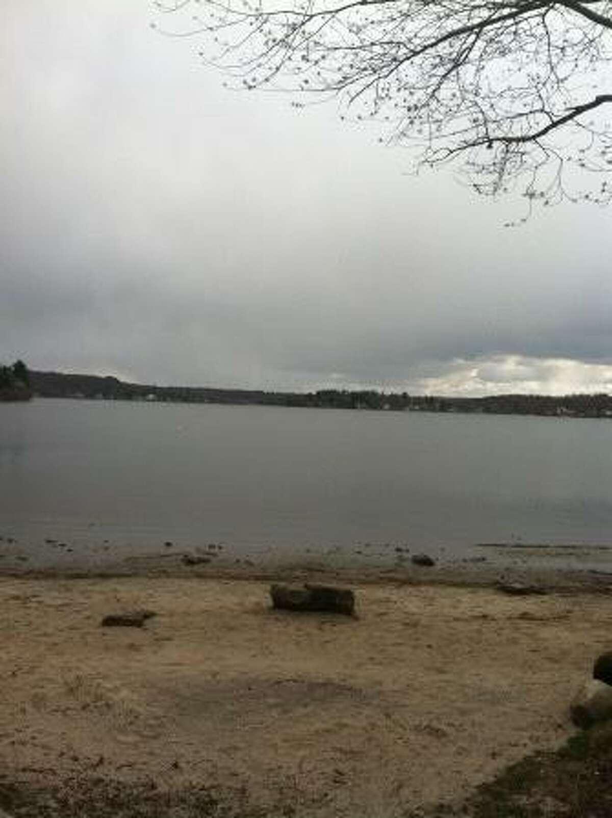 Bantam Lake on Thursday Afternoon. Photo by Daniela Forte.