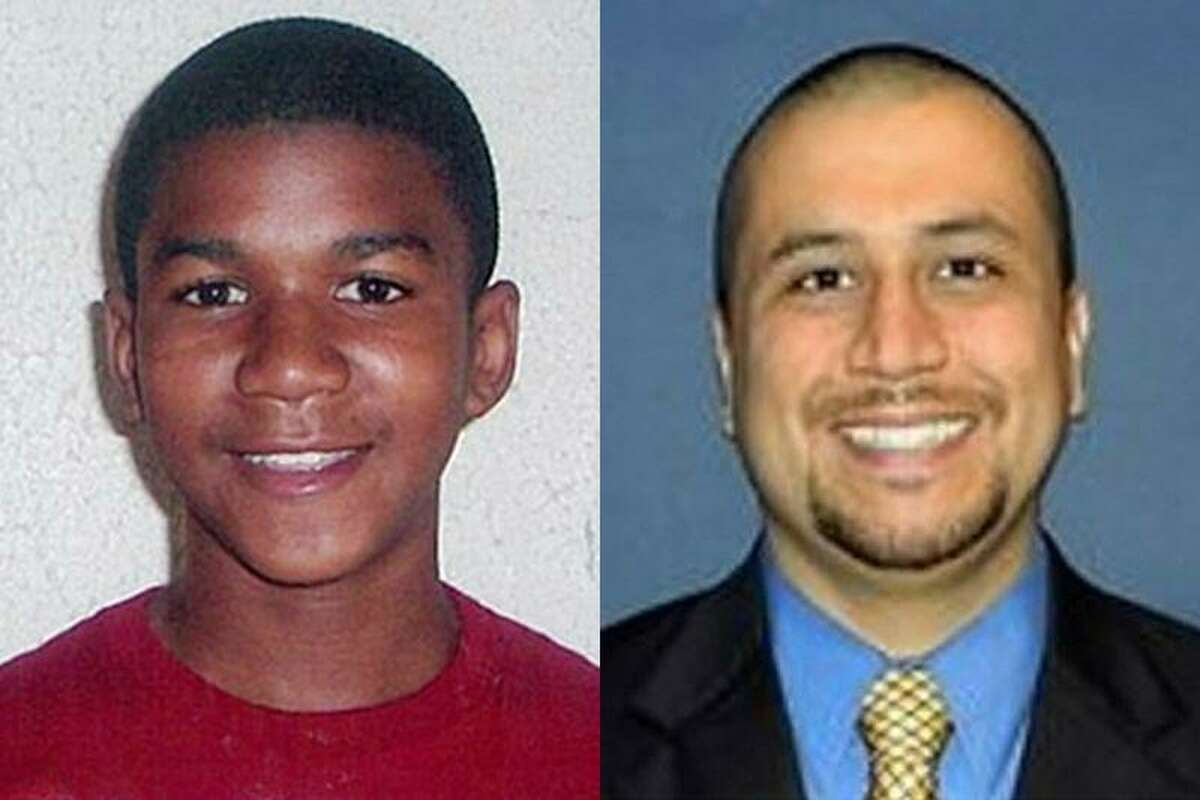This combo made from file photos shows Trayvon Martin, left, and George Zimmerman. Associated Press
