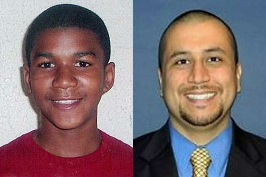 This combo made from file photos shows Trayvon Martin, left, and George Zimmerman. Associated Press Photo: AP / Family/Orlando Sentinel