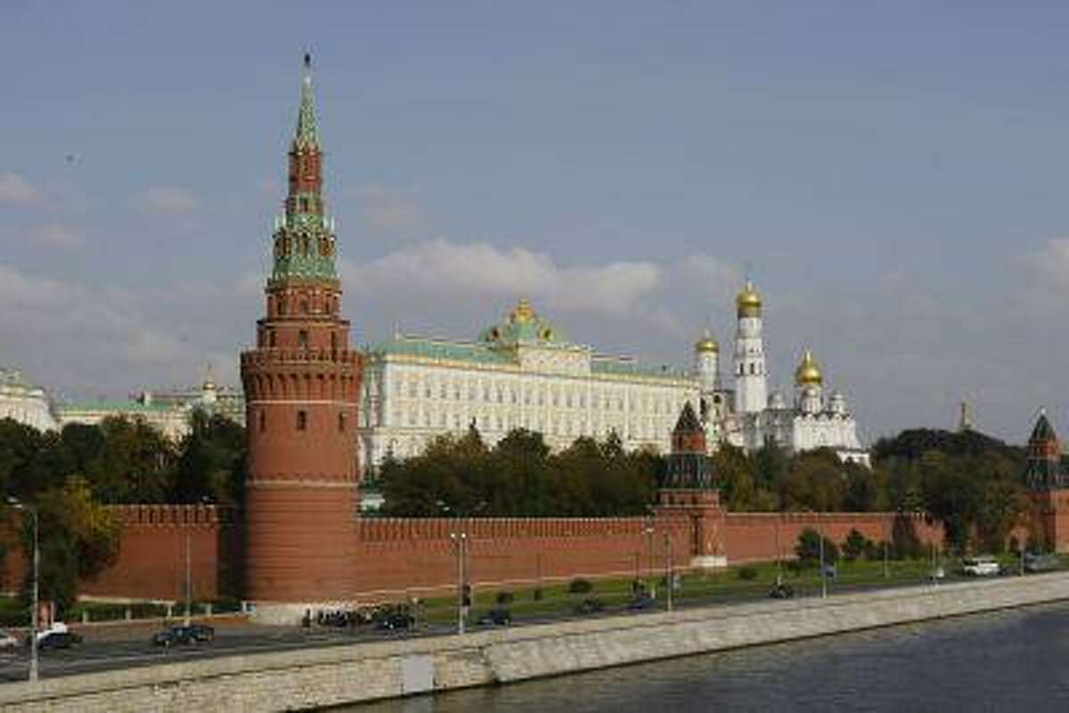 The Great Kremlin Palace is seen in Moscow September 26, 2003, Moscow.