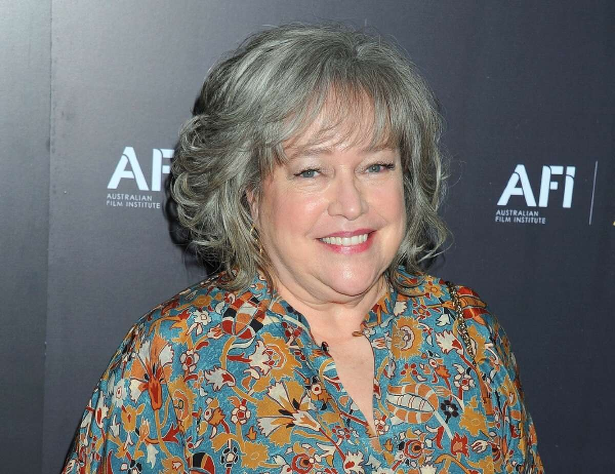 """In this Jan. 27, 2012 photo, """"American Horror Story"""" actress Kathy Bates arrives at the Australian Academy of Cinema and Television Arts Awards at the Soho House, in Los Angeles."""