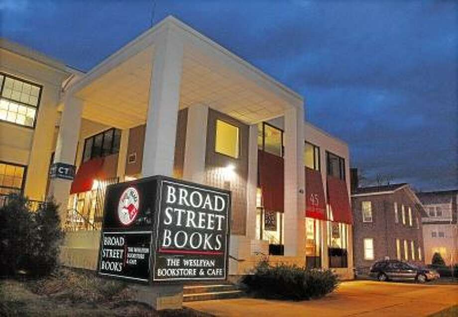 Catherine Avalone/The Middletown Press Broad Street Books, the Wesleyan University book store has decided to stay at their present location at 45 Broad Street in Middletown .