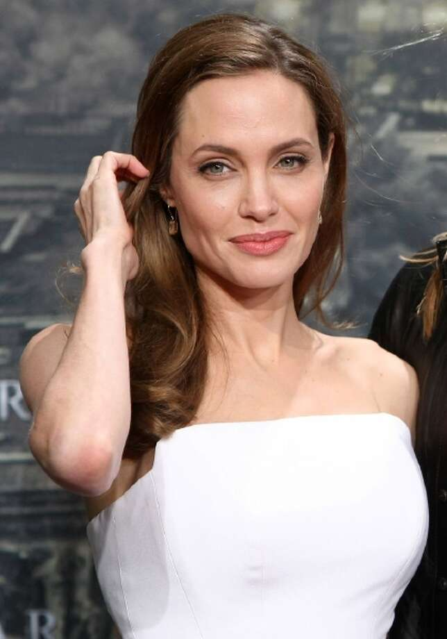 U.S. actress Angelina Jolie.