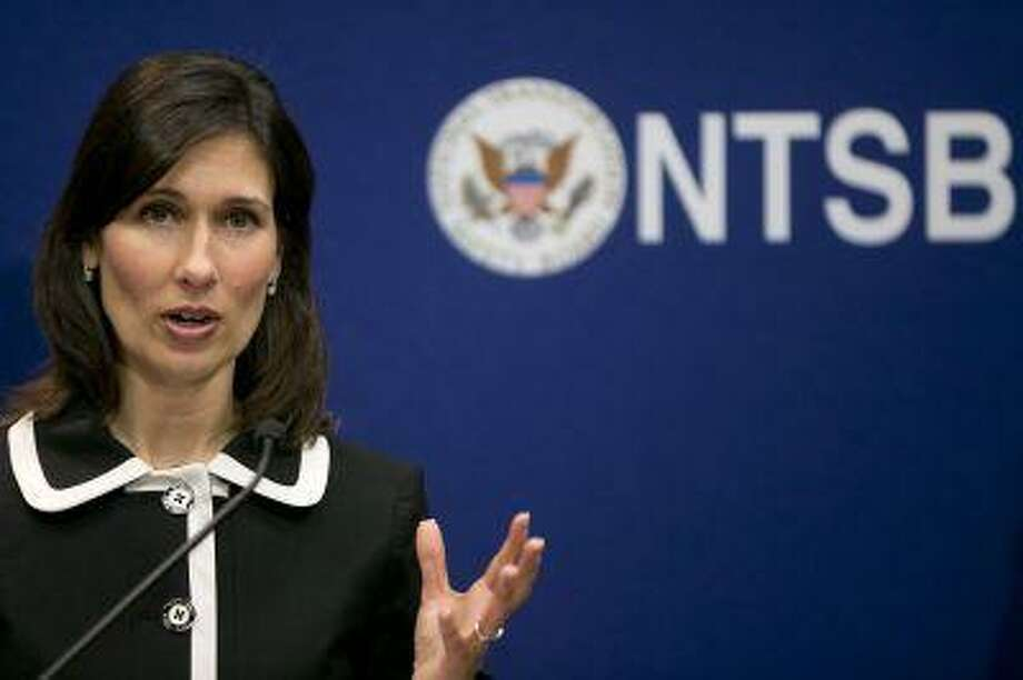 National Transportation Safety Board Chairman Deborah Hersman is shown in February in Washington. Photo: Bloomberg / BLOOMBERG