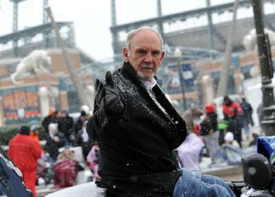 Former Detroit Tiger manager Jim Leland was the grand marshall at the annual parade in downtown Detroit.