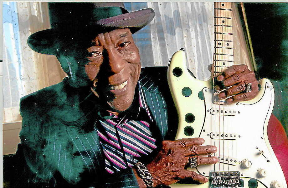 Contributed photo - Buddy GuyBuddy Guy joins other famed musicians at the Waterbury Palace Theater in March 2014 for a tribute to Jimi Hendrix. Photo: Journal Register Co.
