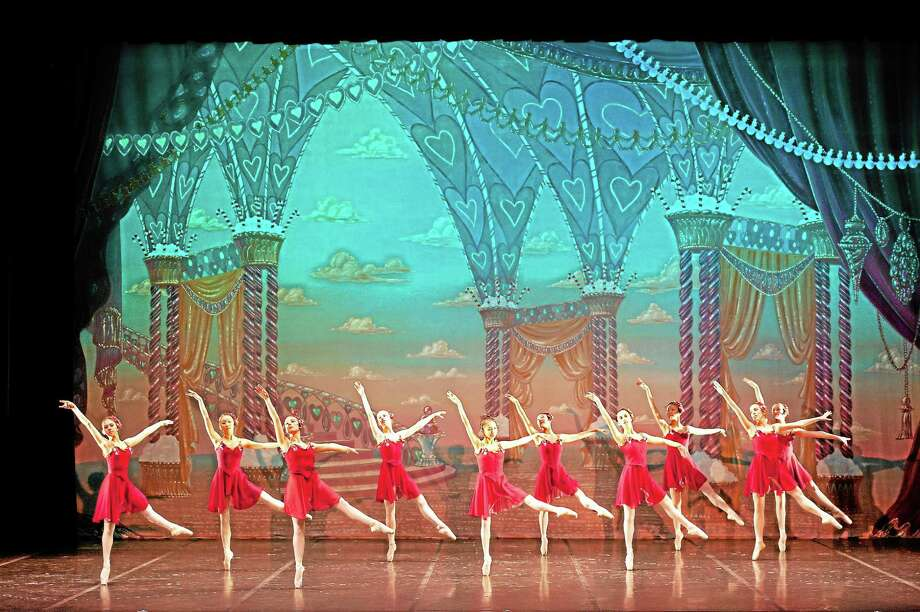 "Submitted photo - Albano'sAbove, a scene from Albano's ""Nutcracker"" which will be presented Nov. 30 at Middletown High School's performing arts center. Photo: Journal Register Co. / TAKAO KOMARU"