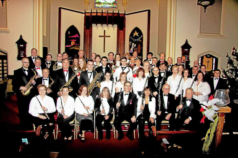 Submitted photo - Middletown Symphonic BandThe Middletown Symphonic Band will present a program on Sunday, Dec. 1 at 2 p.m. at the First Congregational Church in Wallingford. On Dec. 6, a performance is scheduled at Westbrook High School at 7 p.m., sponsored by the Westbrook Park and Recreation Department. Photo: Journal Register Co.
