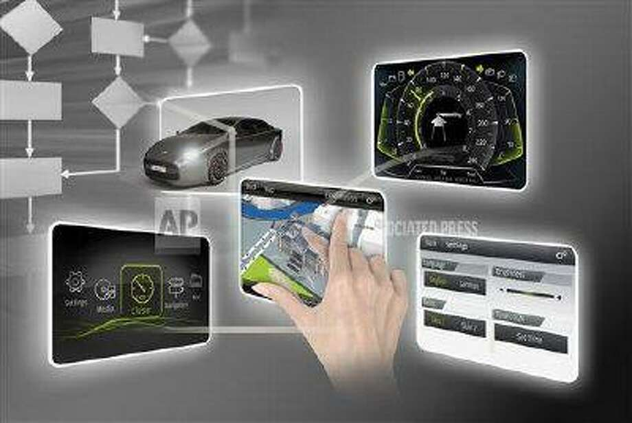 Elektrobit brings multi-touch smart-phone features to auto instrument panels.