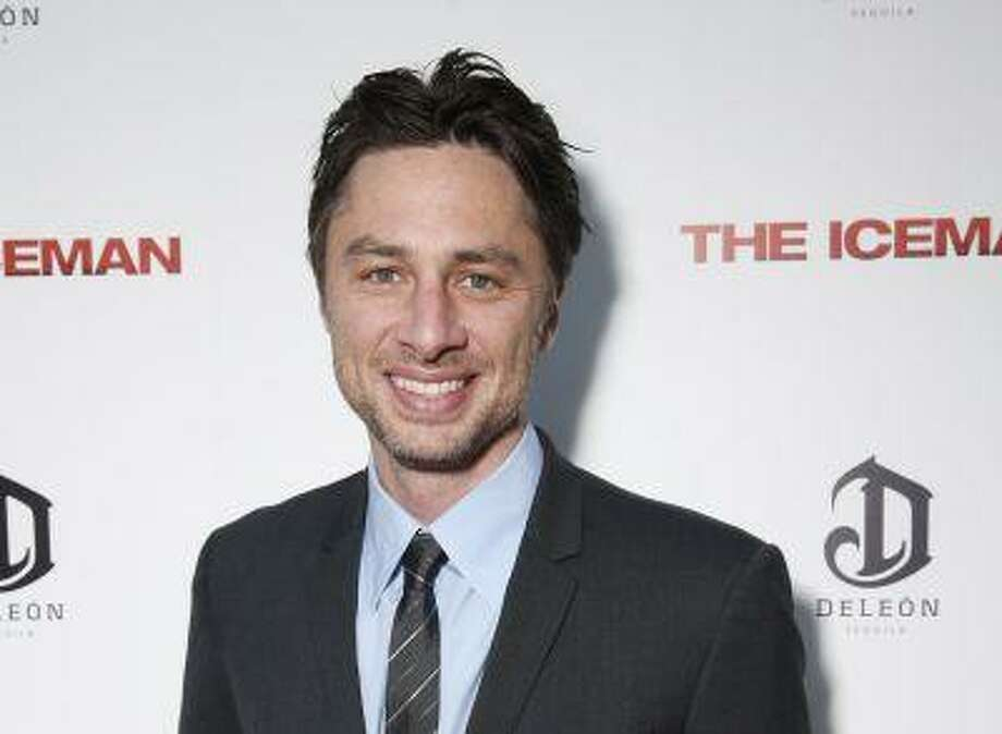 "In the wake of the enormously successful ""Veronica Mars"" Kickstarter campaign, Zach Braff is turning to crowd-funding to help realize a goal he's had since his 2004 film ""Garden State"": make another movie. The ""Scrubs"" star on Wednesday, April 24, 2013 launched a campaign to raise $2 million from fans on Kickstarter. Photo: AP / Invision"