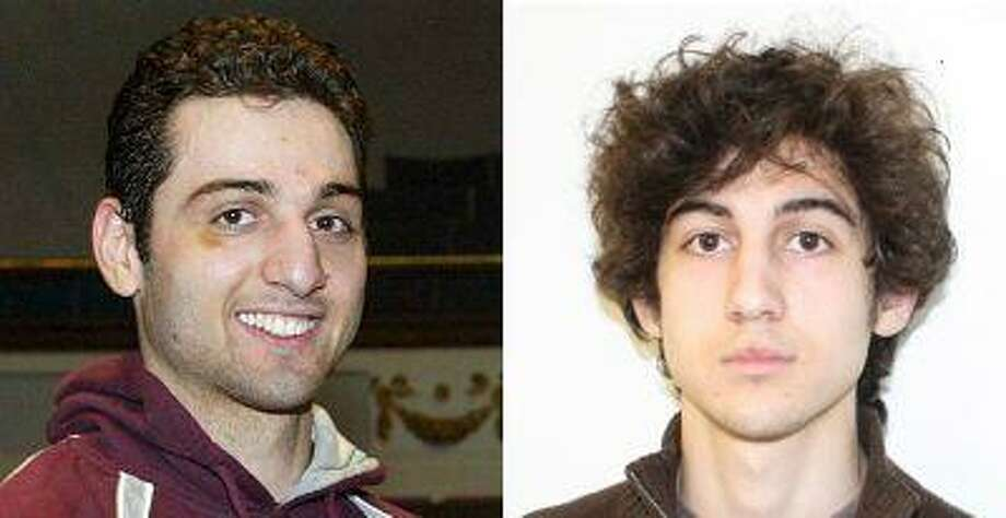 Tamerlan Tsarnaev (L), 26, is pictured in 2010 in Lowell, Massachusetts, and his brother Dzhokhar Tsarnaev, 19, is pictured in an undated FBI handout photo in this combination photo. The two are suspects in the April 15, 2013 bombing at the Boston Marathon. Tamerlan Tsarnaev was shot and killed by police April 19, 2013. (Reuters/The Sun of Lowell) Photo: REUTERS / X80001