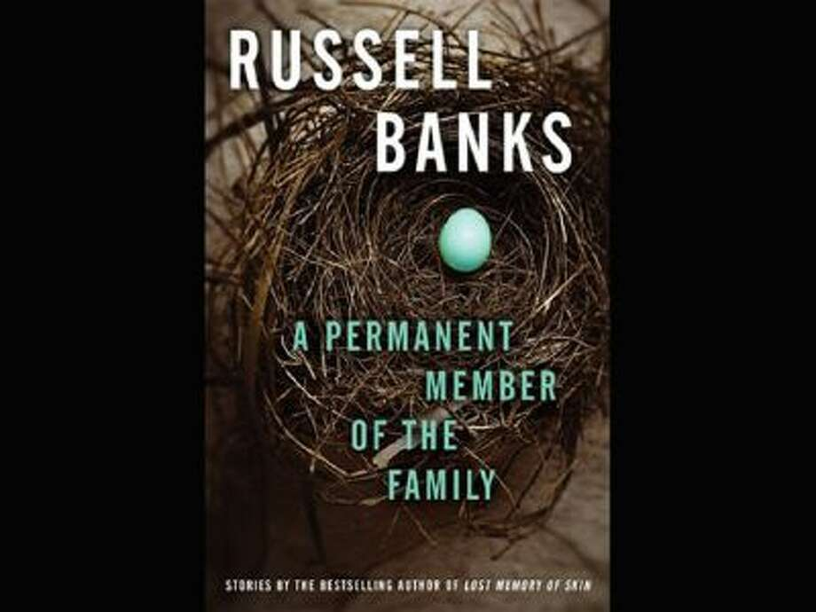 "This book cover image released by Ecco shows ""A Permanent Member of the Family,"" by Russell Banks."