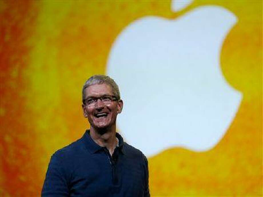 Apple CEO Tim Cook Photo: ASSOCIATED PRESS / A2012