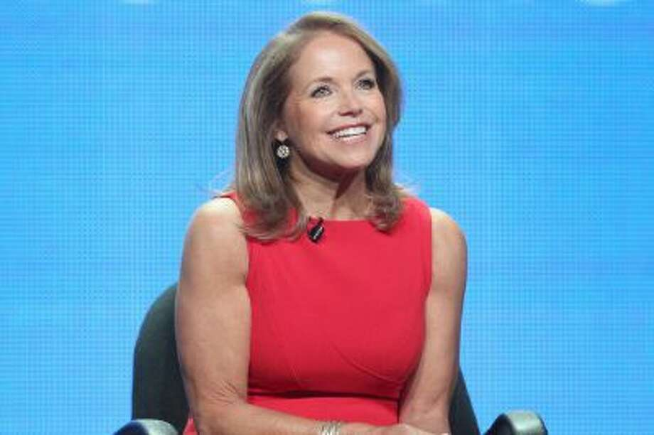 "Katie Couric will keep her talk show ""Katie"" while joining the Yahoo team. Photo: Getty Images / 2012 Getty Images"
