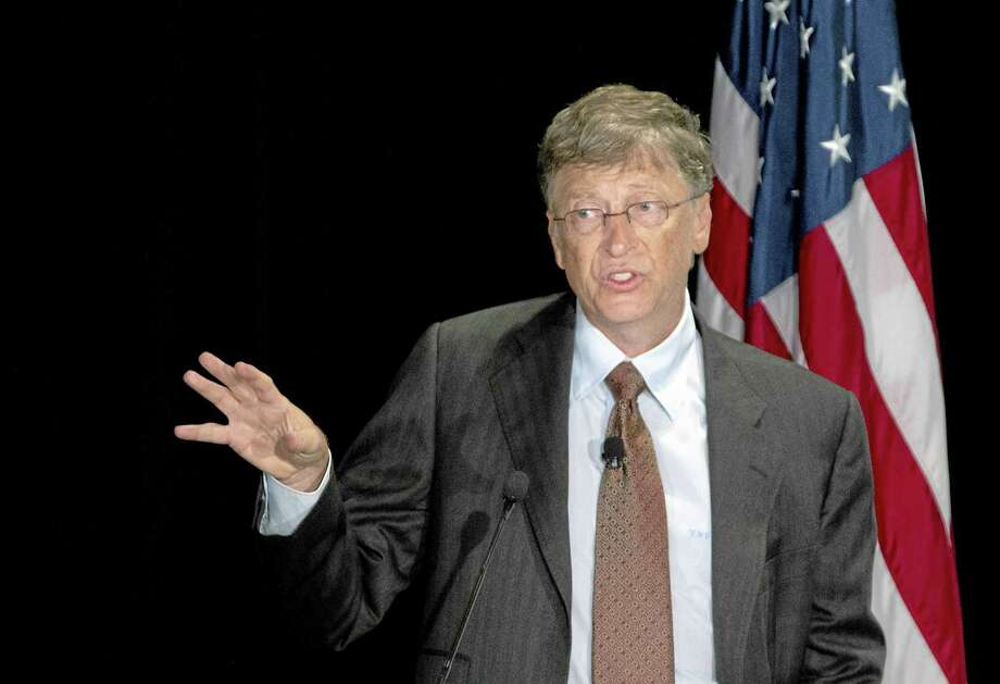 Bill and Melinda Gates Foundation Co-Chair Bill Gates speaks in Washington, Tuesday, June 26, 2012. Gates is a supporter of the Common Core. Photo: Manuel Balce Ceneta — The Associated Press   / AP2012