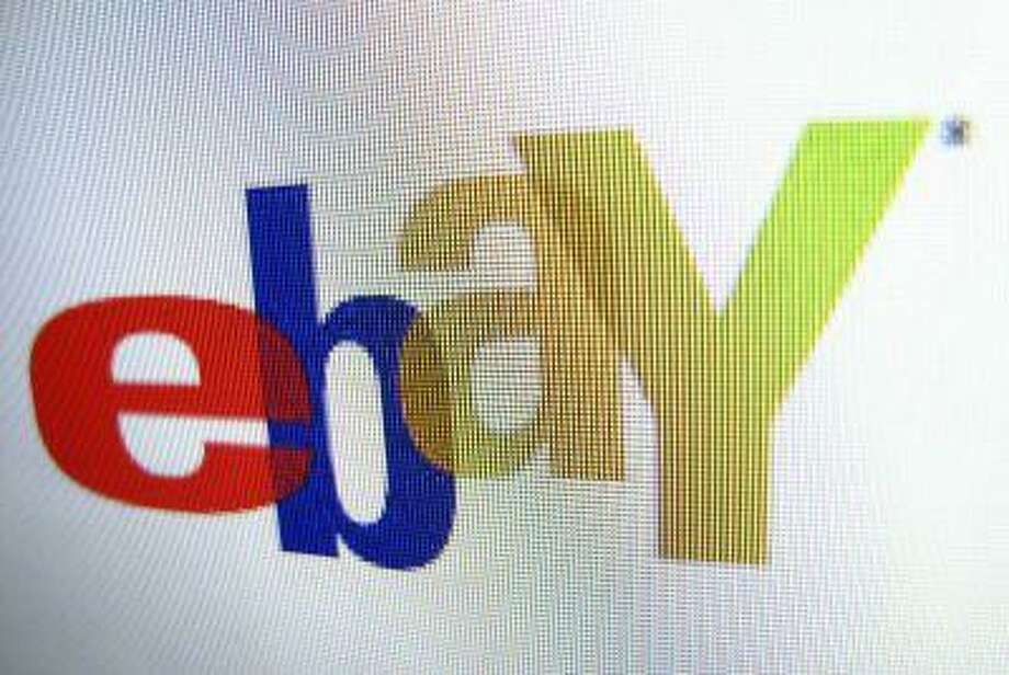 An Ebay logo is displayed on a monitor in this photo illustration in Encinitas, California, April 16, 2013. Ebay will report their earnings on Wednesday.      REUTERS/Mike Blake  (UNITED STATES - Tags: BUSINESS SCIENCE TECHNOLOGY LOGO) Photo: REUTERS / X00030