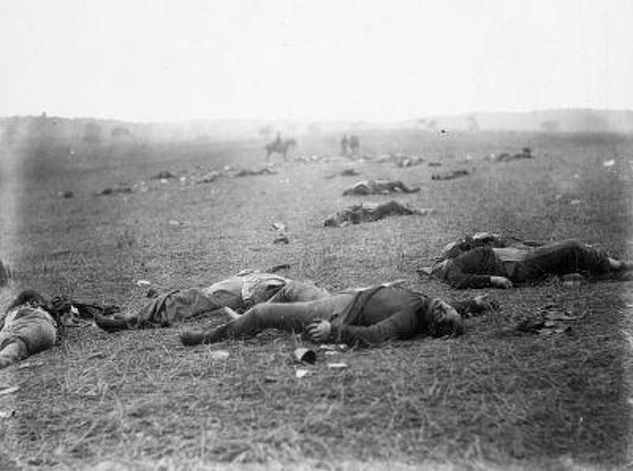 Like the battlefield parks at Antietam, Shiloh and Vicksburg, preservation at Gettysburg began with the creation of a cemetery. In the beginning, however, there was fields of human wreckage and an urgent need to put bodies under ground. Photo: The Washington Post / The Washington Post