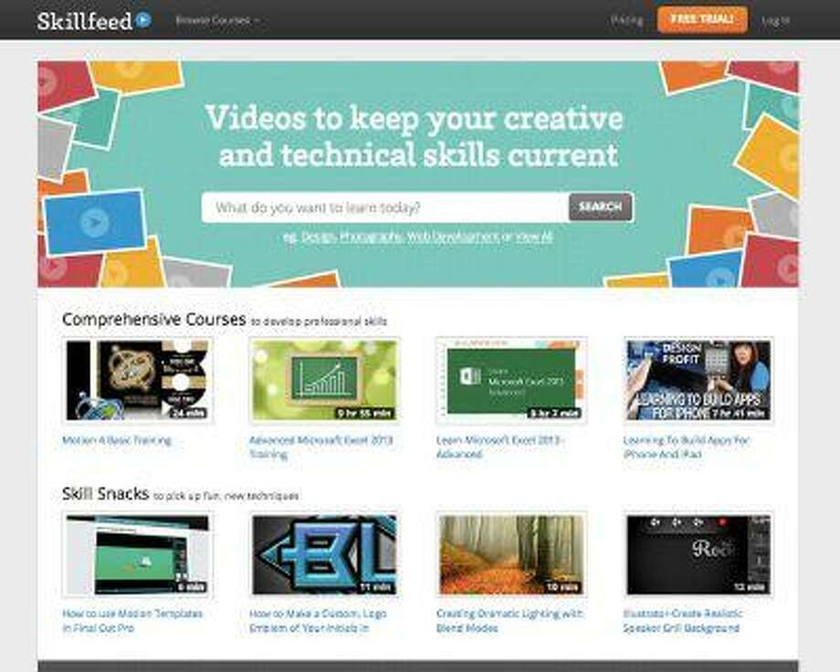 Shutterstock reinvents online learning with Skillfeed: A marketplace for video tutorials. (PRNewsFoto/Shutterstock, Inc.) Photo: PR NEWSWIRE / SHUTTERSTOCK, INC.