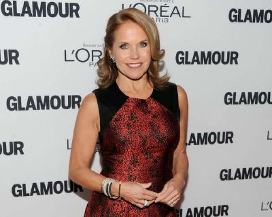 In this Monday, Nov. 11, 2013 file photo, Katie Couric attends the 23rd Annual Glamour Women of the Year Awards hosted by Glamour Magazine at Carnegie Hall in New York.