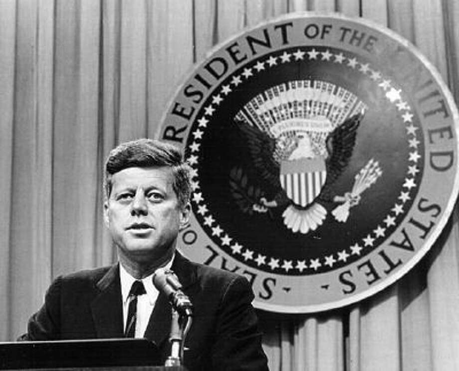 President John F. Kennedy speaks at a press conference Aug. 1, 1963. National Archive/Newsmakers Read more: Had JFK lived: Historians speculate on an alternate 1960s, his legacy - The Denver Post