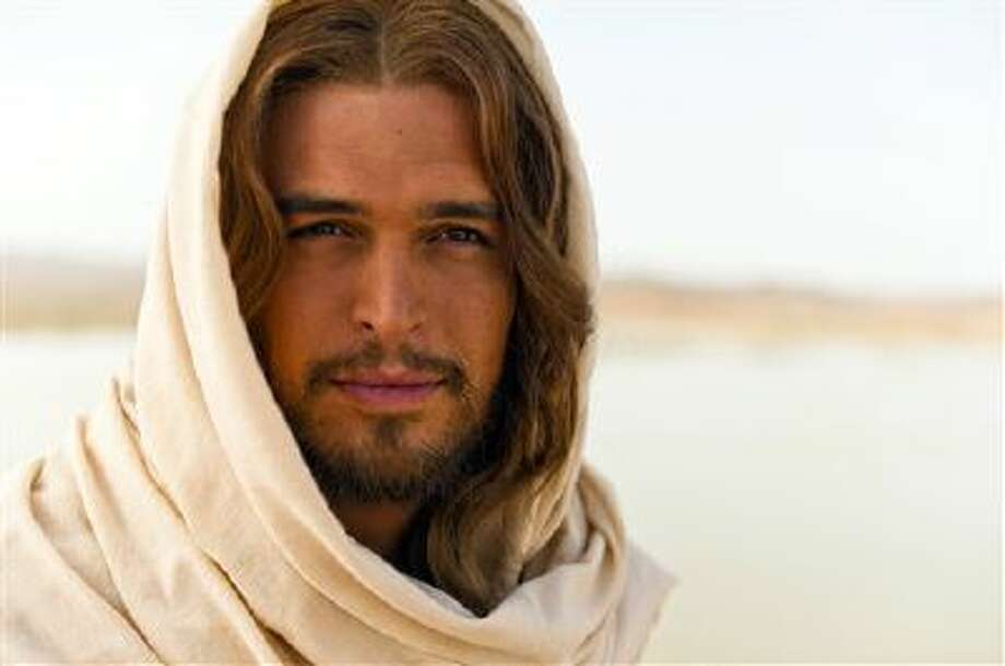 """This image released by LightWorkers Media shows Diogo Morgado who plays Jesus in the film """"The Bible."""" Mark Burnett and Roma Downey's """"The Bible"""" franchise continues to grow in unexpected ways. Up next? A 16-city music tour featuring some of today's most popular Christian acts. The tour begins next March following the nationwide theatrical release of """"The Bible"""" companion film """"Son of God,"""" and will feature music inspired by and visual components from the movie and miniseries. Photo: AP / LightWorkers Media"""