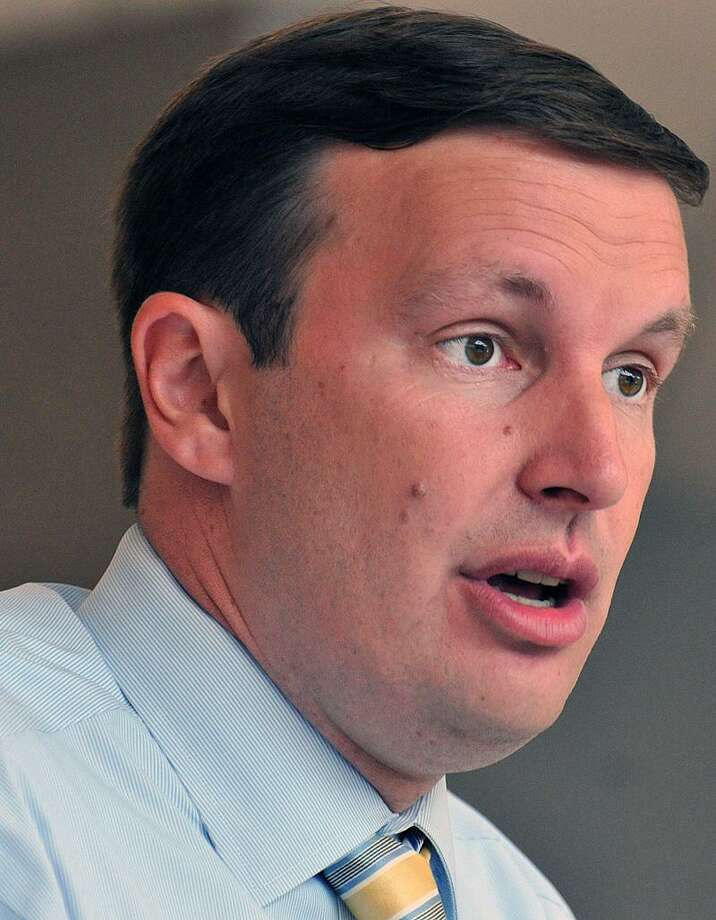Sen. Chris Murphy. Peter Casolino/New Haven Register 8/15/12
