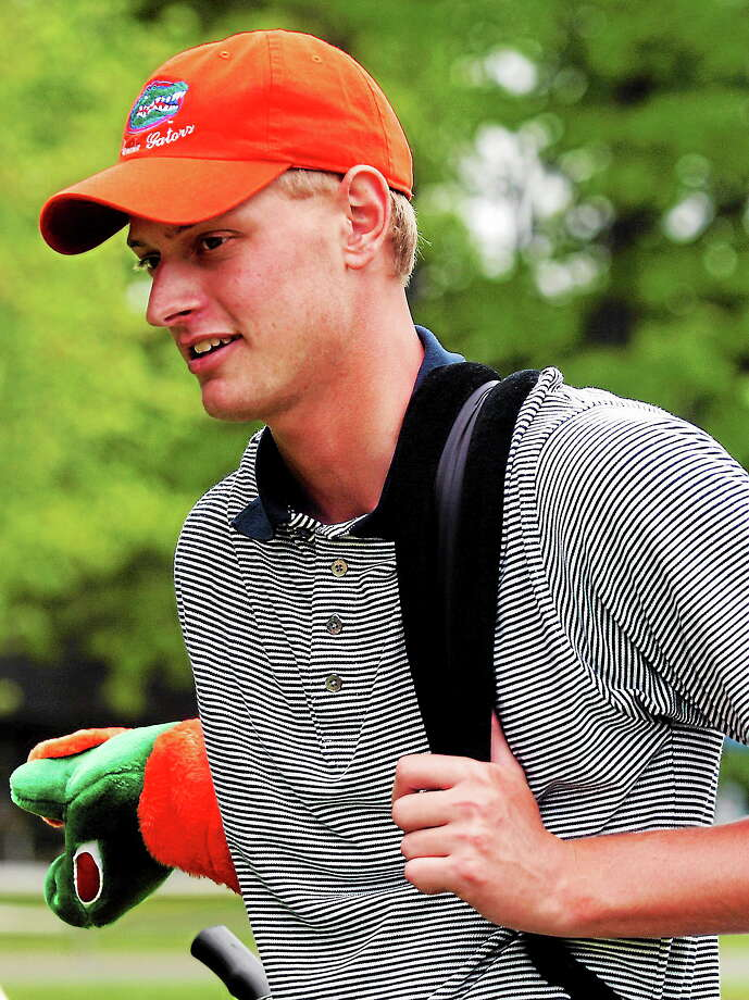 Madison's Brett Stegmaier, shown here while at the University of Florida in 2004, is as close as ever to realizing his dream of earning a spot on the PGA Tour. Photo: The Associated Press  / AP