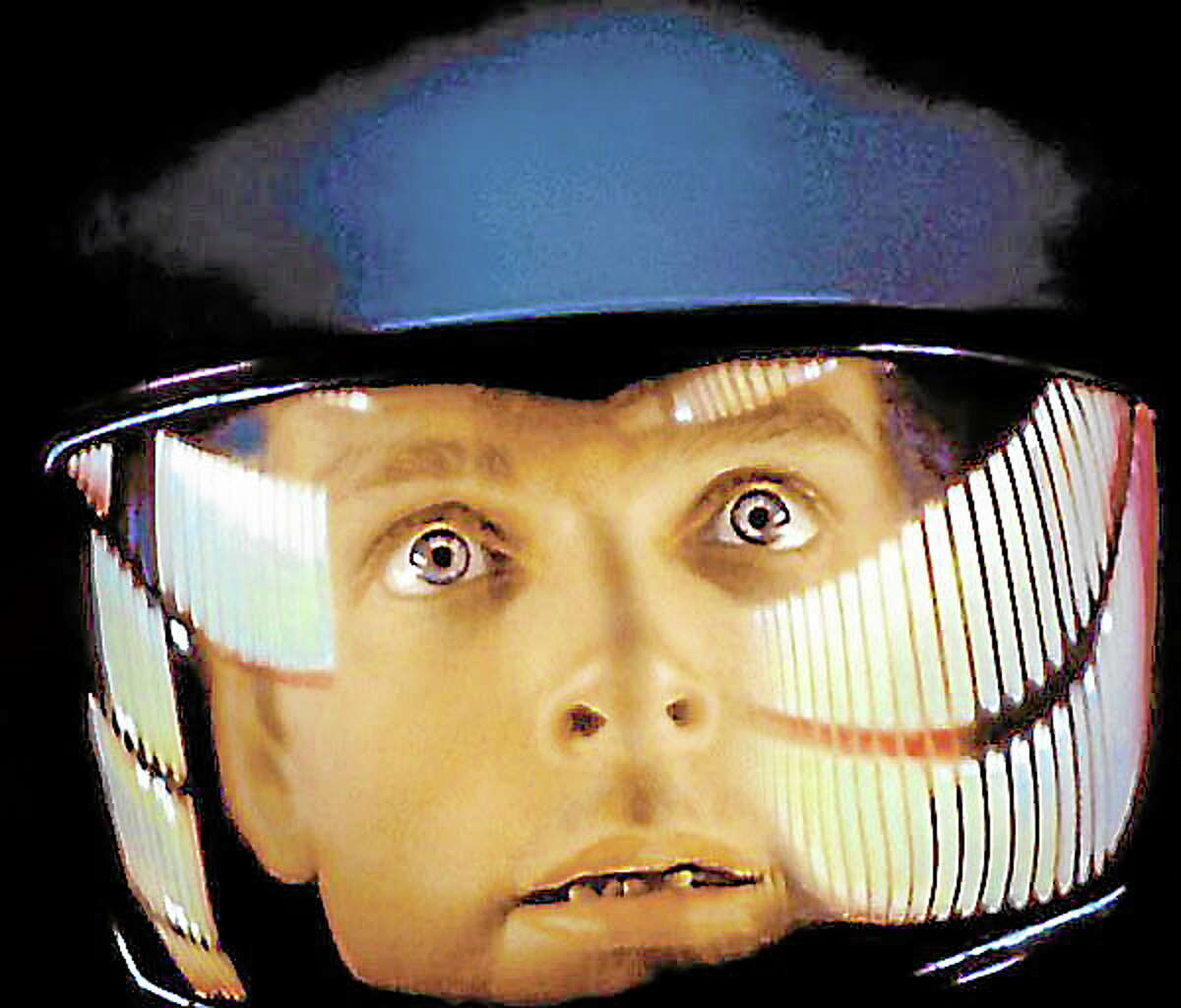 Keir Dullea as Dr. David Bowman in 2001: A SPACE ODYSSEY, in a photo contributed by Lyric Hall.