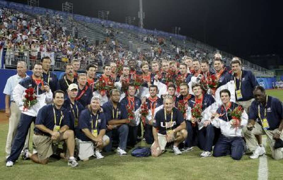 The bronze-medal winning 2008 United States Olympic baseball team was the last team to compete in the Summer Games.