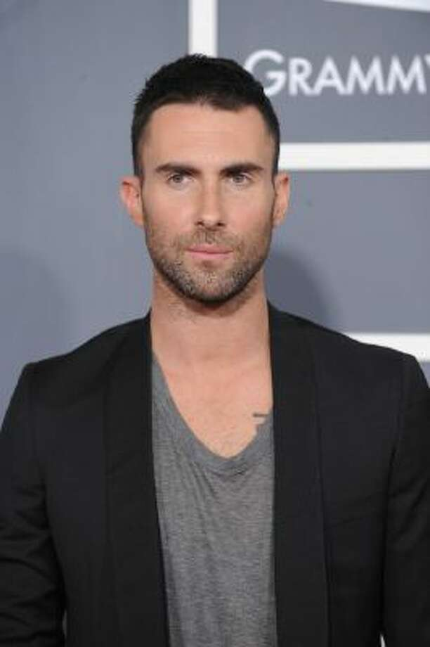 Singer-songwriter and guitarist Adam Levine.