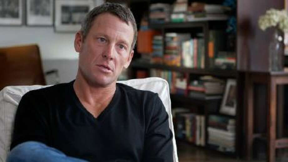 "This photo released by courtesy of Sony Pictures Classics shows Lance Armstrong in the documentary film, ?The Armstrong Lie,"" by director, Alex Gibney."