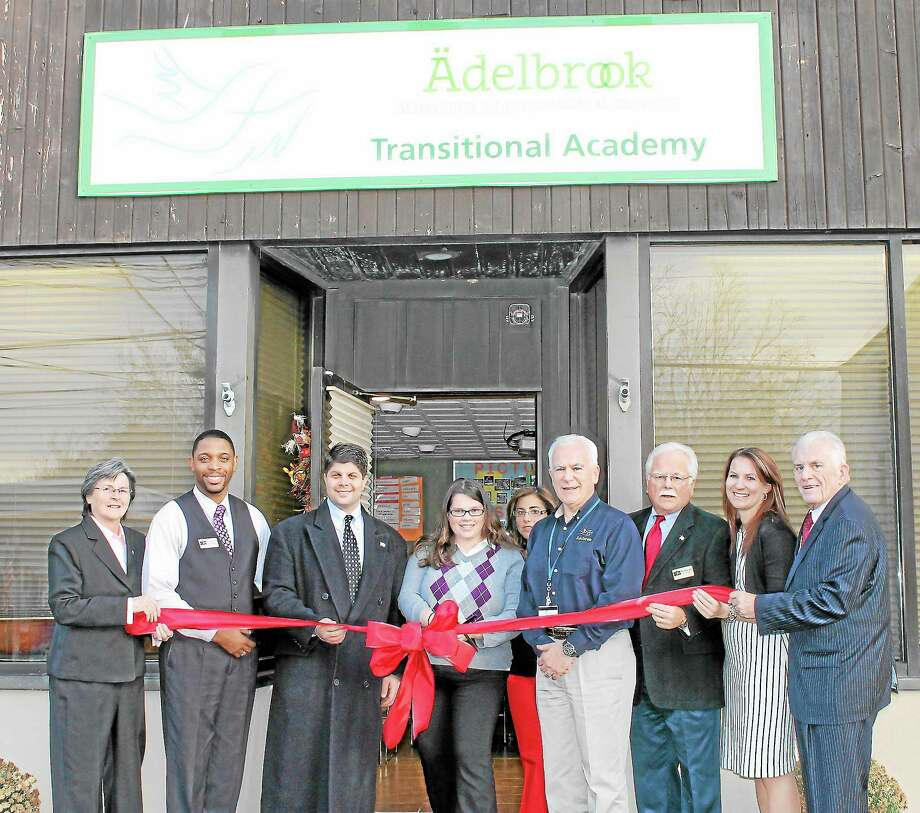 Grand opening of Adelbrook Transitional Academy on South Main Street. Photo: Submitted Photo