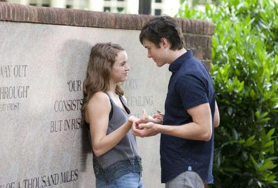 Morgan Saylor as Dana Brody and Sam Underwood as Leo in Homeland (Season 3, Episode 01). Photo: Showtime / Copyright:  Showtime 2013