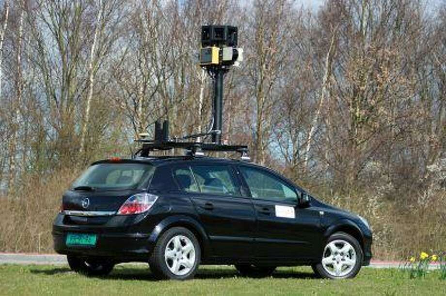 An undated file photo provided by Google shows one of their street mapping cars. (AP Photo/Google, file) Photo: AP / GOOGLE