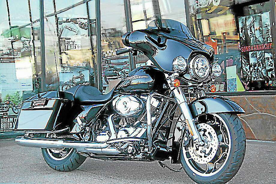 Submitted photoThe Healthy Communities-Healthy Kids Coalition of the Youth and Family Services of Haddam-Killingworth is raffling off a Harley Davidson. Photo: Journal Register Co.