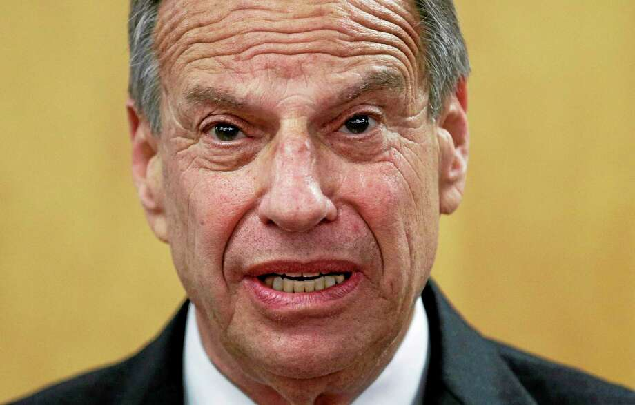 FILE - In this July 26, 2013 file photo, San Diego Mayor Bob Filner speaks during a news conference at city hall, in San Diego. Filner is expected to appear at City Hall on Monday, Aug. 19, 2013, when he has said he will return to work after undergoing an intensive two-week therapy program.  (AP Photo/Gregory Bull, File) Photo: AP / AP