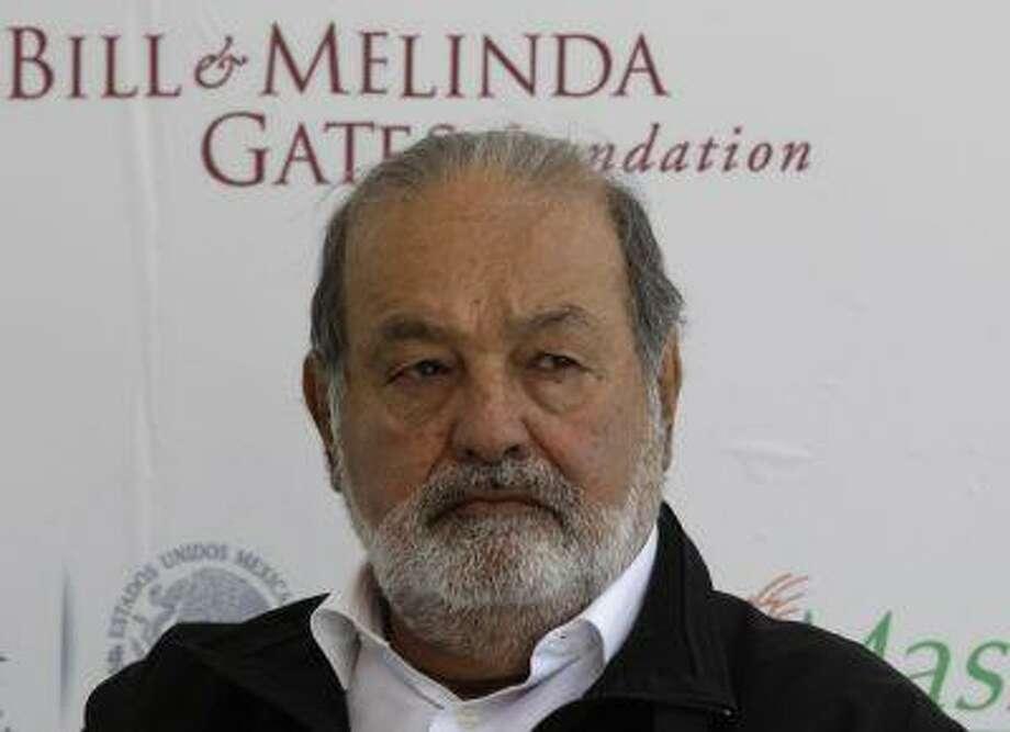 Mexican businessman Carlos Slim. Photo: REUTERS / X00897