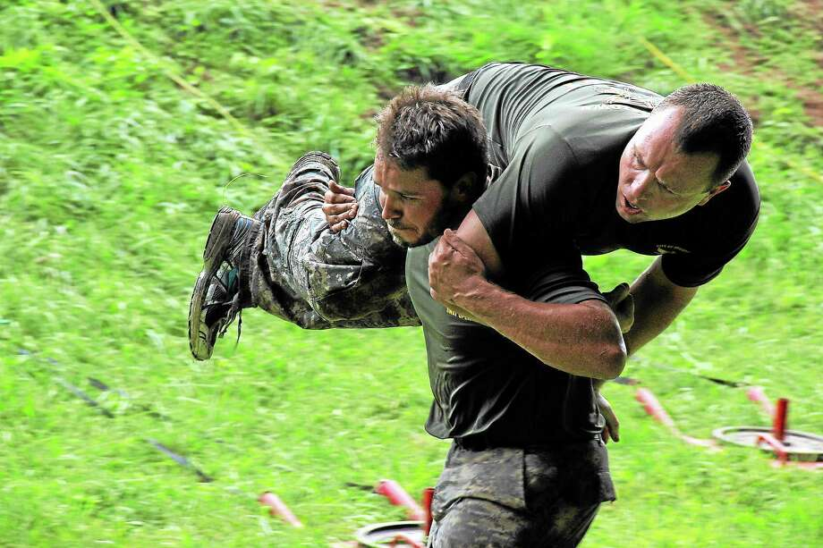 The Middletown SWAT team was among 27 SWAT teams from across the country that participated this week in the ninth annual Connecticut SWAT Team Challenge. (Kathleen Schassler - West Hartford News) Photo: Journal Register Co. / Kathleen Schassler All Rights