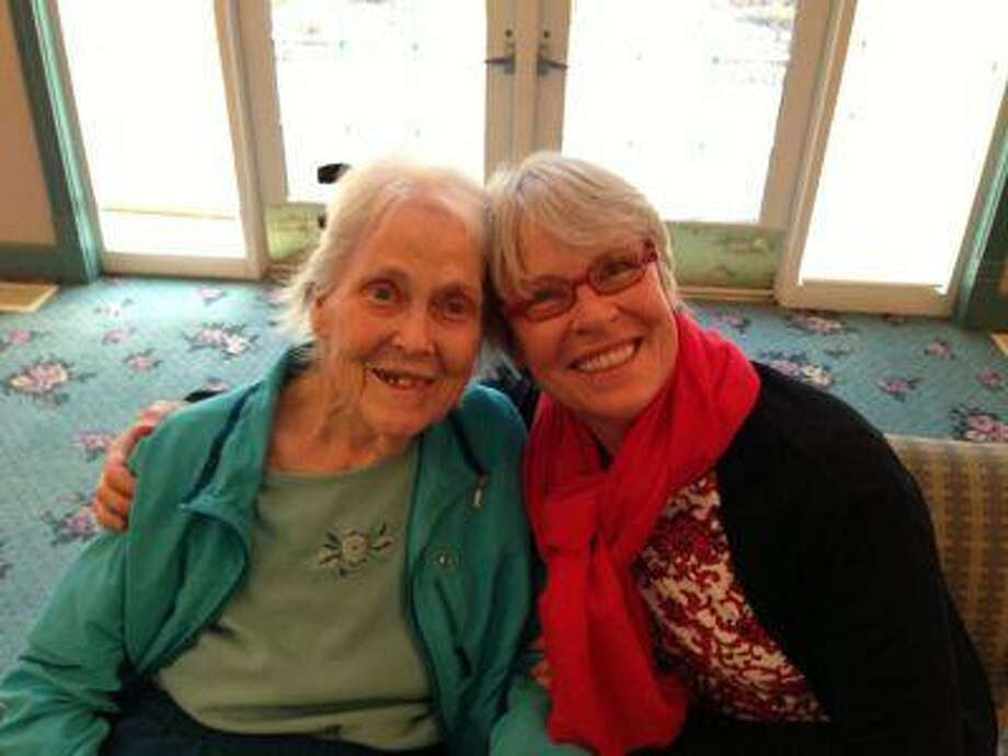 """Cecilia """"Peggy"""" Brenneck with her mother, Patti, at an assisted living facility in Minnesota last year. Photo: THE WASHINGTON POST / THE WASHINGTON POST"""