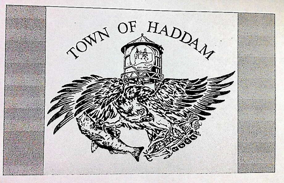 This proposed town flag will be discussed at the Haddam Board of Selectmen meeting Thursday night. Photo: Journal Register Co.
