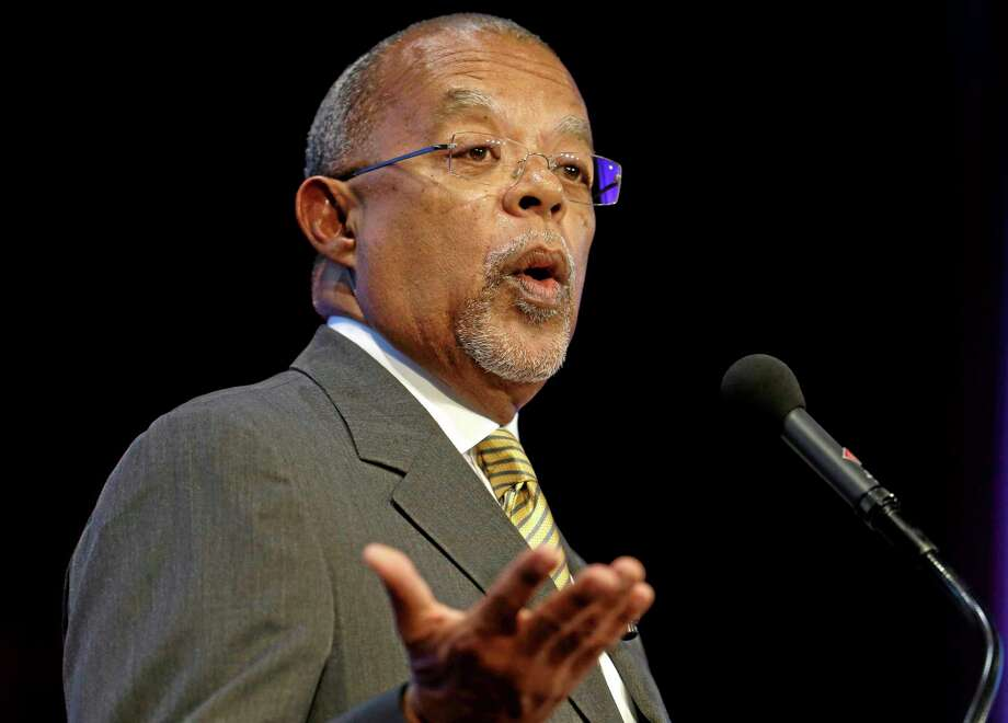 "FILE - In this Oct. 2, 2013 file photo, Harvard University professor Henry Louis Gates, Jr., addresses the audience during an award ceremony for the W.E.B. Du Bois Medal at Harvard University, in Cambridge, Mass. In a foreword for the newly published ""Bartlett's Familiar Black Quotations,"" Gates notes that collections of black quotations date back to the 19th century and that the ""field has proliferated with a marvelous array of titles."" But, he adds, none of the reference works compares with the scope of Retha Powers' collection.""(AP Photo/Steven Senne, File) Photo: AP / AP"