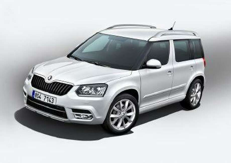 The new Skoda Yeti is available in a version specially designed for city driving. &Copy;Skoda