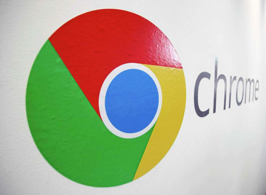 FILE - In this , Tuesday, Oct. 8, 2013, file photo, the Chrome logo is displayed at a Google event in New York. Google reports quarterly earnings on Thursday, Oct. 17, 2013. (AP Photo/Mark Lennihan, File) Photo: AP / AP