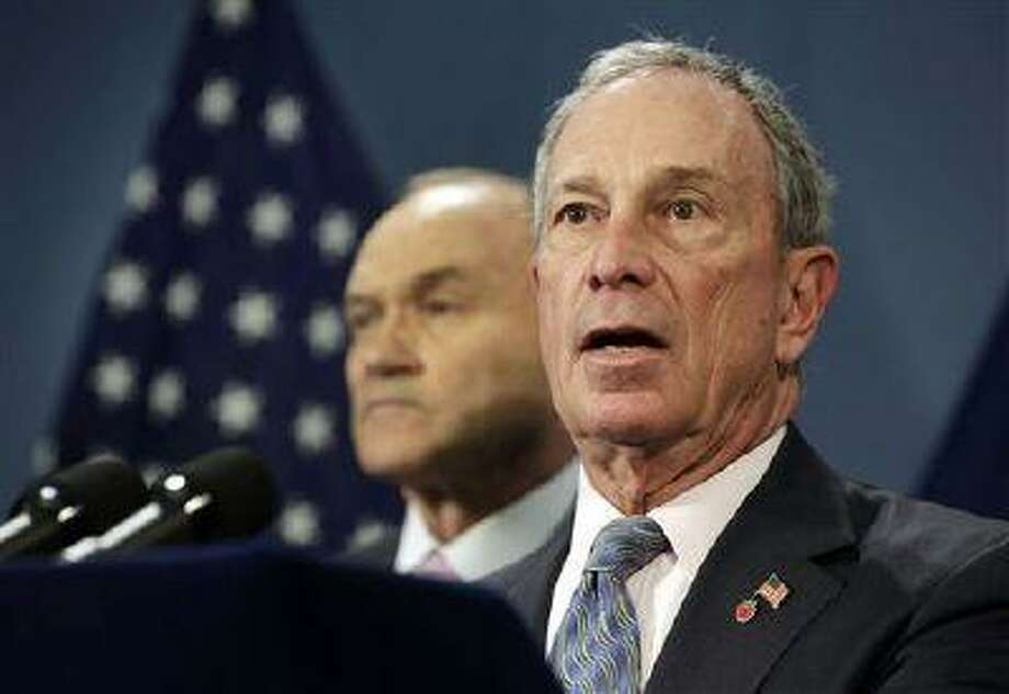 New York Mayor Michael Bloomberg says the NYPD's procedures save lives and isn't a matter of racial profiling. Photo: AP / AP