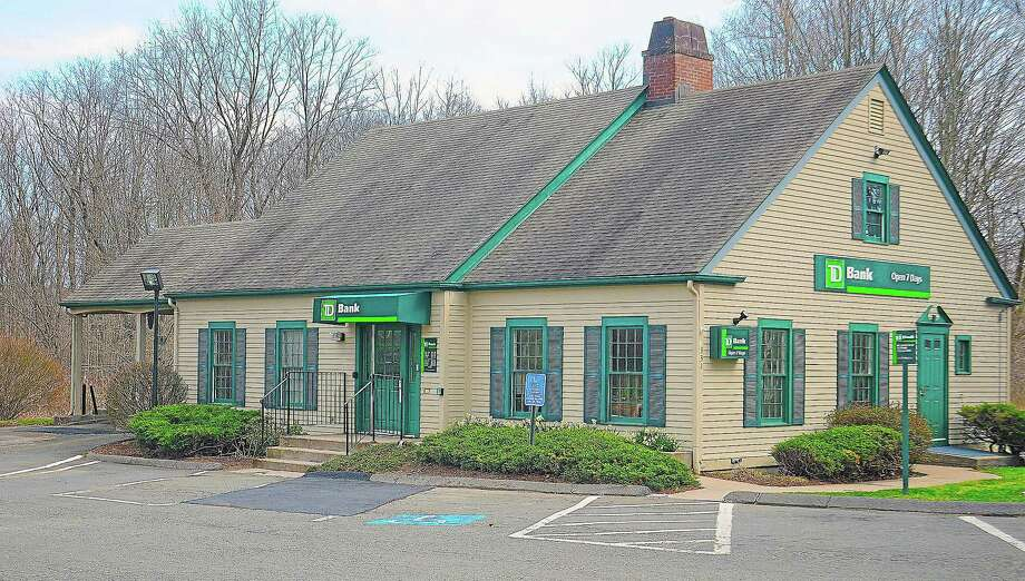 TD Bank at 331 Main St. in Durham. Photo: Catherine Avalone — The Middletown Press  / TheMiddletownPress