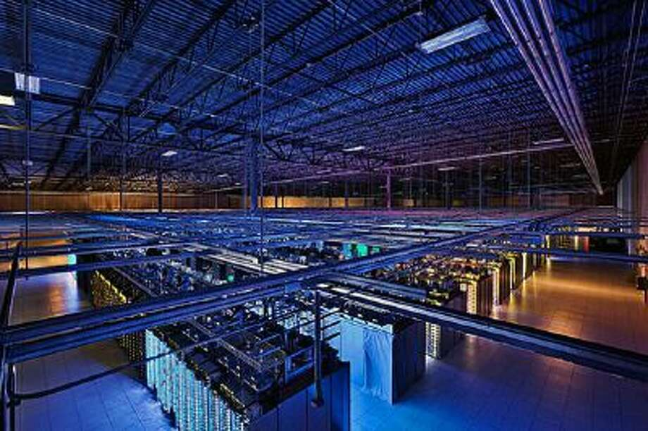 This undated photo provided by Google shows a Google data center in Hamina, Finland. The Washington Post reported that the National Security Agency has secretly broken into the main communications links that connect Yahoo and Google data centers around the world.