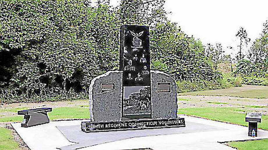 9th Regiment Connecticut monument at Vicksburg. (Submitted photo) Photo: Journal Register Co.