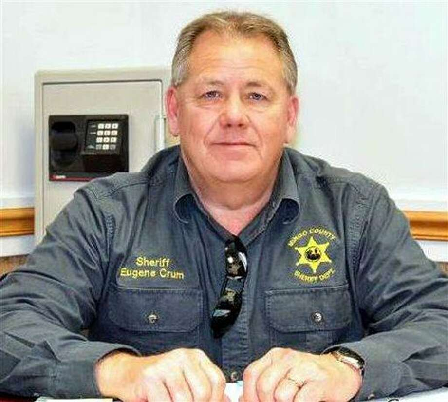 """This undated photo shows Mingo County Sheriff Eugene Crum. Crum was gunned down Wednesday, April 3, 2013 in the spot where he usually parked and ate lunch in Williamson, <a href=""""http://W.Va"""">W.Va</a>. (AP Photo/Williamson Daily News) Photo: AP / Williamson Daily News"""