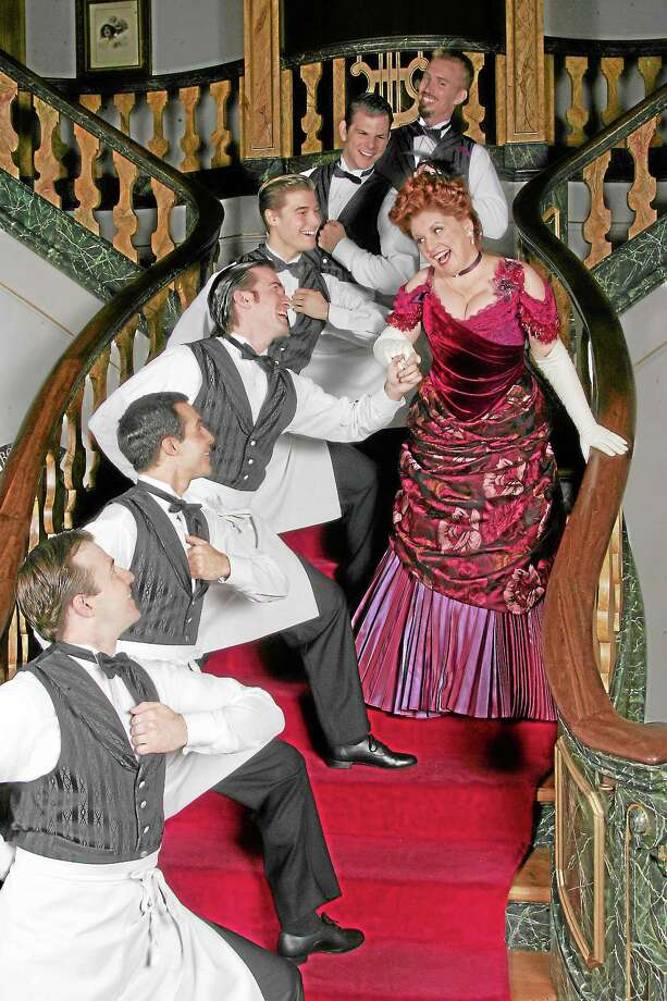"Submitted photo - Diane SobolewskiKlea Blackhurst plays the role of ""Dolly"" in the Goodspeed's production of ""Hello Dolly!"" Photo: Journal Register Co. / ??2013 Diane Sobolewski, Goodspeed Musicals"