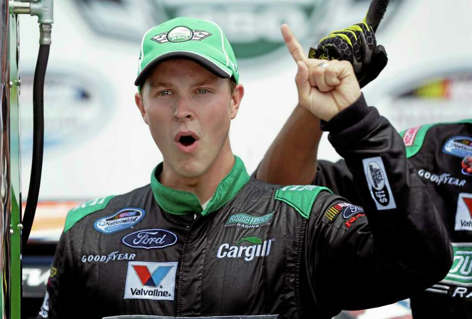 Trevor Bayne said Tuesday that he has multiple sclerosis and does not expect it to impact his racing career. Bayne, who in 2011 became the youngest winner in Daytona 500 history, will still compete as scheduled at Homestead-Miami Speedway this weekend in the Nationwide and Sprint Cup Series finales. Bayne's younger sister, Sarah, also has multiple sclerosis. Photo: Charlie Neibergall — The Associated Press  / AP